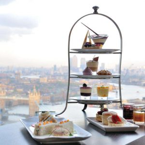 Aqua Shard launches afternoon tea