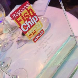 Award -winning Poppies Fish and Chips