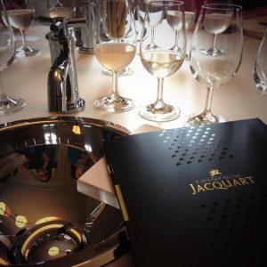 Champagne Jacquart 50th Anniversary