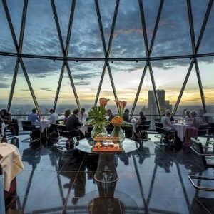 Searcys Celebrate 10 Years at the Gherkin
