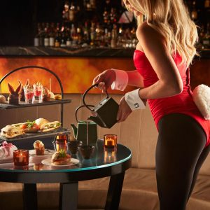 Afternoon Tea with a Twist and a Tail at the Playboy Club