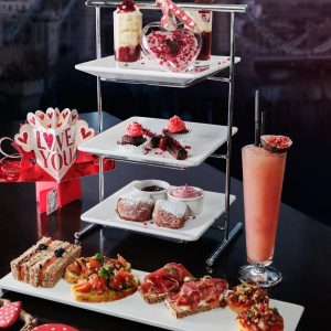 'All loved up' Afternoon tea review