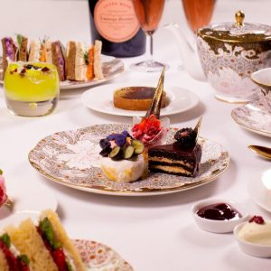 Cuisson luxury afternoon tea