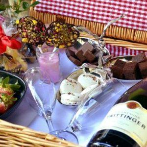 The Royal Horseguard's luxury chocolate picnics