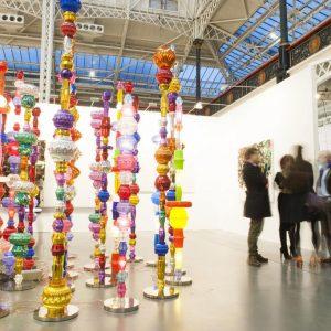 2 for 1 at London's global art fair
