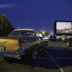 Drive in Film Club At Alexandra Palace