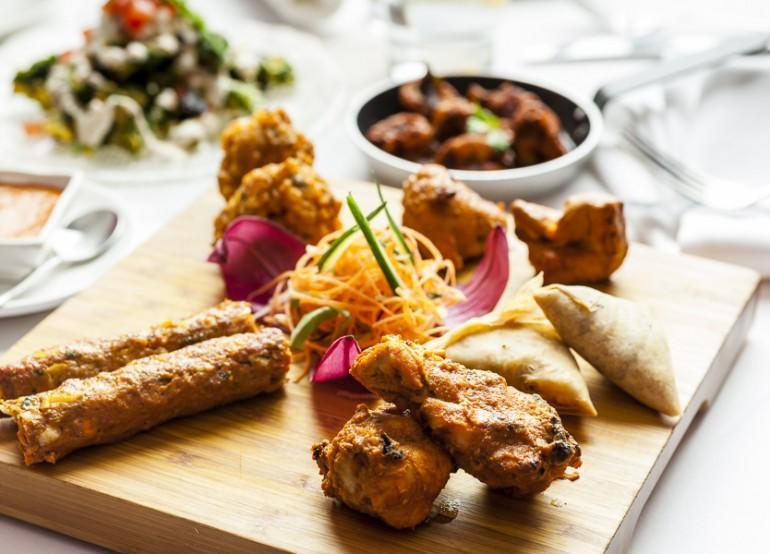 Meat sharing platter