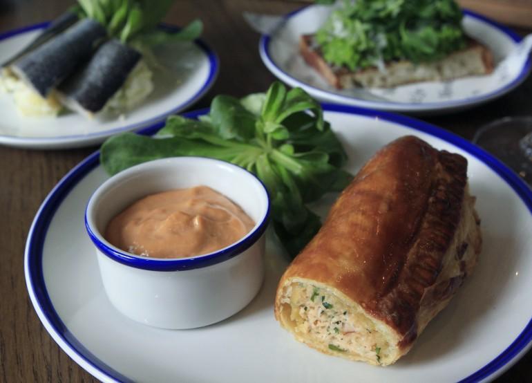 Crab sausage roll1