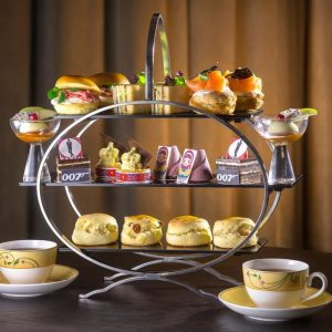 James Bond Inspired Afternoon Tea
