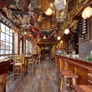 Phileas Fogg Opens Tavern