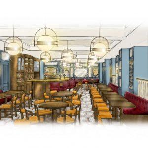 The Ivy Café Opens