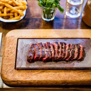 Free Steak at Flat Iron