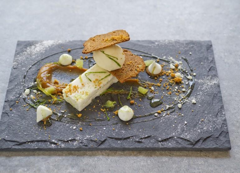 Lime parfait with gingerbread_1