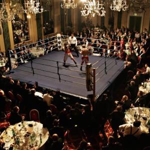 Royal Marines Boxing Bout at Café Royal