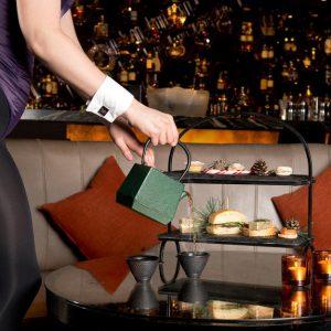 Festive afternoon tea at the Playboy Club