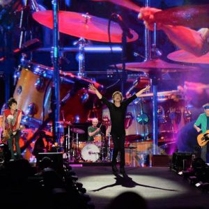 The Rolling Stones at the Saatchi Gallery