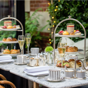 Dalloway Terrace Launches Alfresco Afternoon Tea