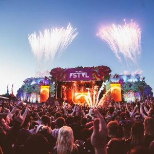 VIP Partying at East London's FSTVL