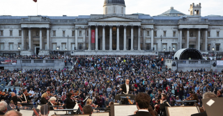 The London Symphony Orchestra's Open Air Concert
