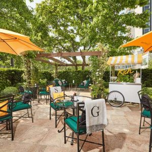 Four Seasons' Secret Veuve Clicquot RICH Garden