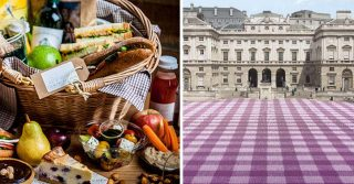Giant Picnic at Somerset House