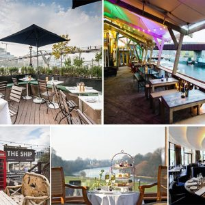 8 Top Places for Riverside Dining
