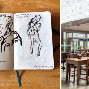 Complimentary Sketching Masterclasses at St Pancras Renaissance