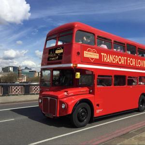 Hop Aboard the London Love Bus