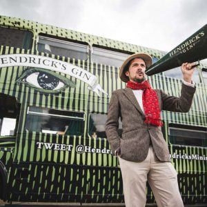 All aboard the Hendrick's Gin bus