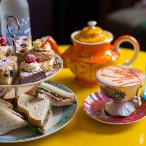 The Little Yellow Door's Quirky Cocktail Tea Party