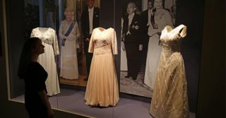Buckingham Palace's 'Fashioning a Reign' Exhibition Opens