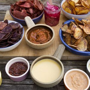 HIPCHIPS: Chips and Dips