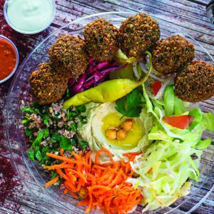 Pilpel Opens with Free Falafel
