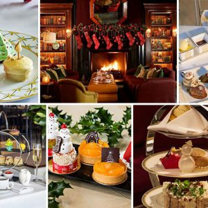 12 Christmas Afternoon Teas
