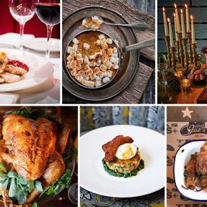 9 Top Restaurants Celebrating Thanksgiving
