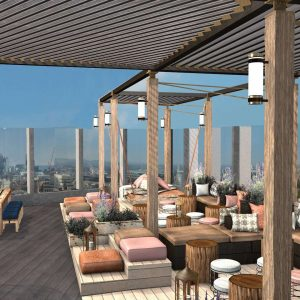 Bōkan: Canary Wharf's New Rooftop Bar