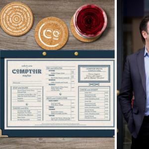 Xavier Rousset Opens Comptoir Cafe & Wine Bar