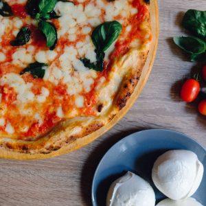 London's New Pizzeria: Quartieri