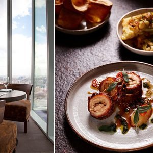 We Review London's Highest Sunday Roast