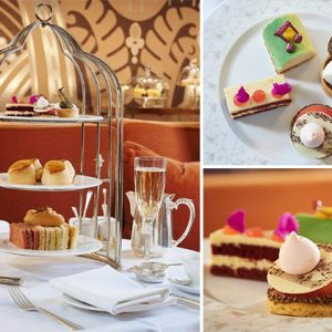 The Sheraton Grand London Park Lane's Jazz Afternoon Tea