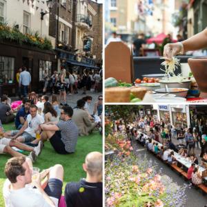 Carnaby Street Eat Food Festival Returns