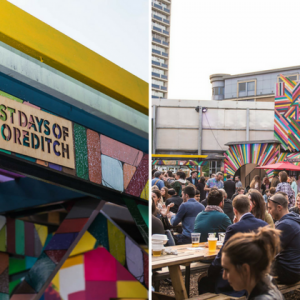 Shoreditch's Summer Beach Pop-Up