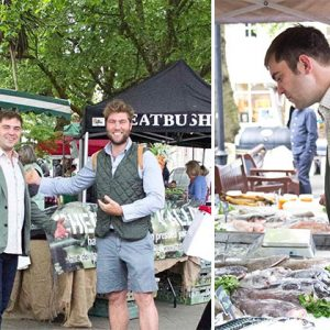 The Gladwin Brothers Launch Weekly Farmers Market