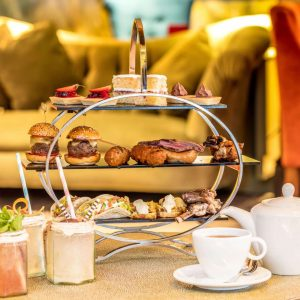 The Afternoon Tea for Meat Lovers