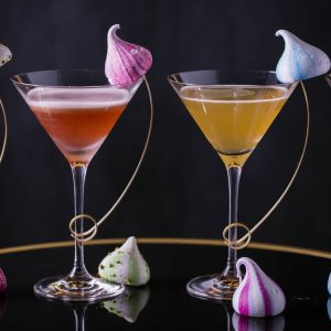 Martinis and Meringues at Quaglino's