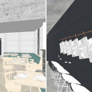 Coal Rooms: A Restaurant in a Ticket Office