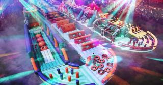 World's Largest Bouncy Castle