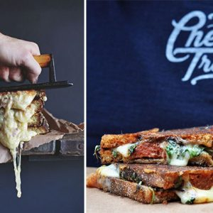 The Cheese Bar's Charity Grilled Cheese Contest
