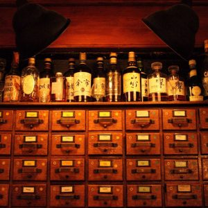 Evans & Peel Pharmacy: A Top Secret Bar