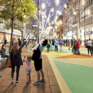 Oxford Street Is Being Pedestrianised